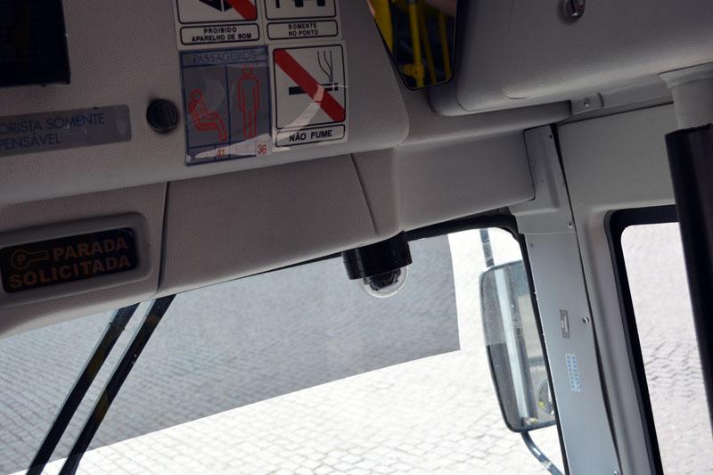 câmeras de ônibus