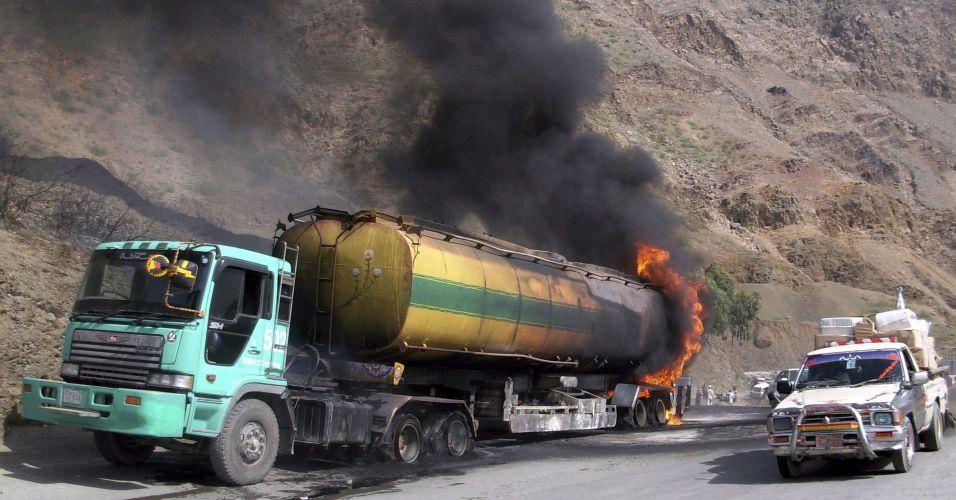 acidentes com cargas perigosas